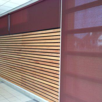 Stores + bois